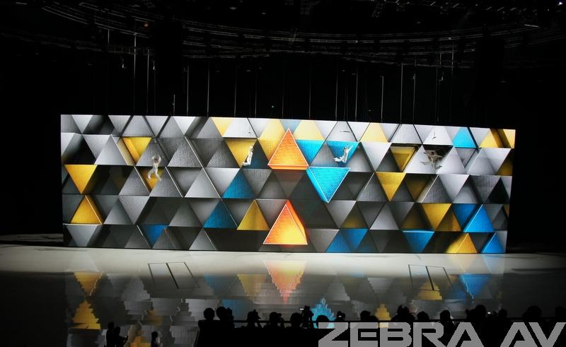 大众发布会(350平米P3高清LED)