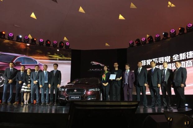捷豹XFL发布(112平米P3高清LED)